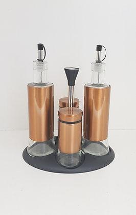 Bronze Series - Oil & Vinegar, Salt & Pepper Set