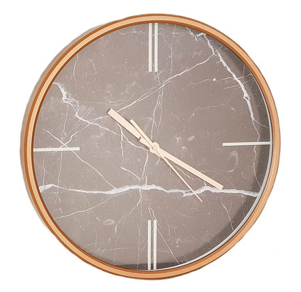 15 inch Marbled Wall Clock