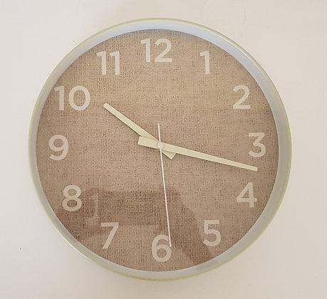 12 inch Light Green Wall Clock