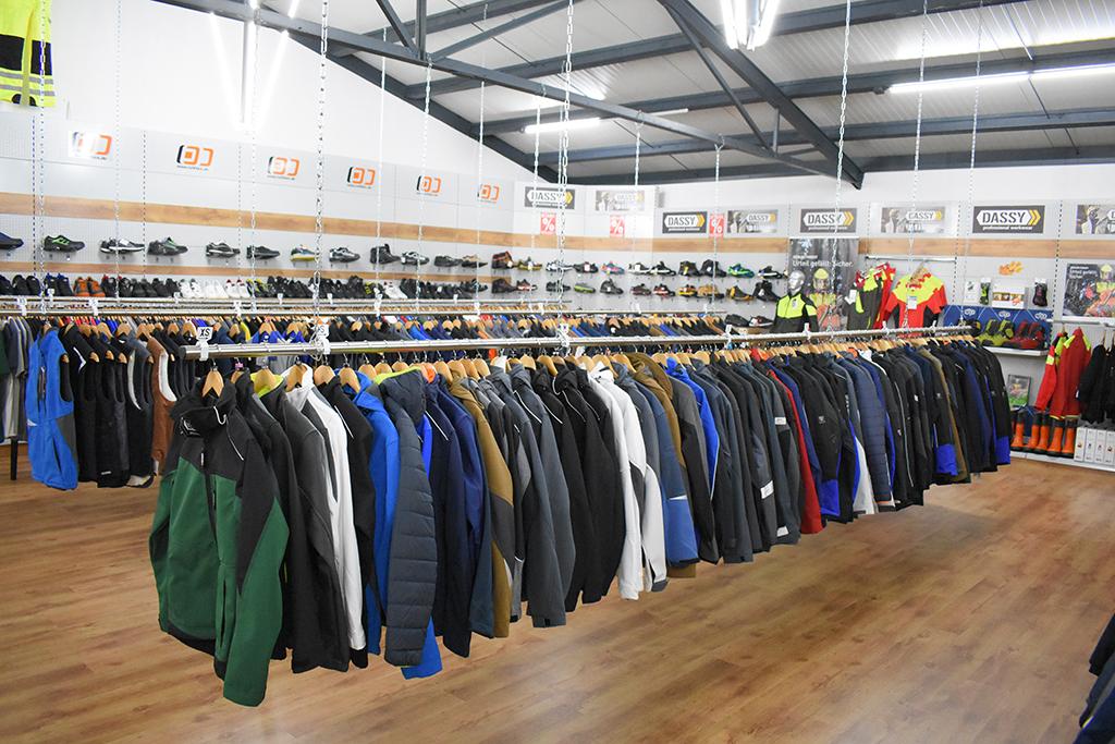 Workwear Ausstellung im 1. OG