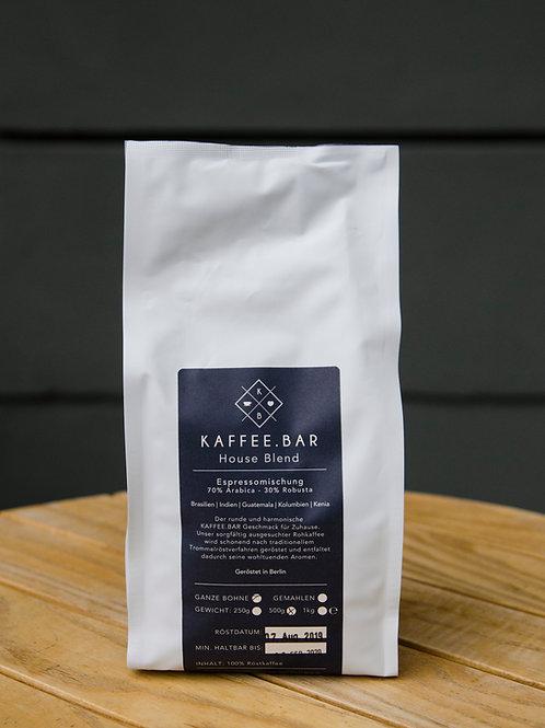 Houseblend Espresso, 500g,  gemahlen
