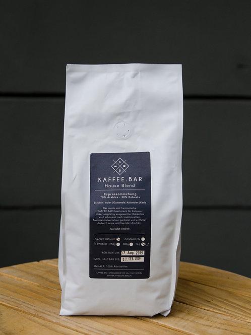 Houseblend Espresso, 1kg, gemahlen