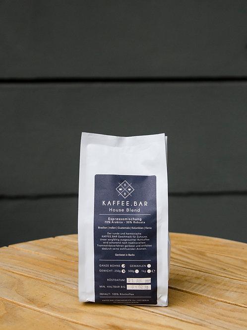 Houseblend Espresso, 250g, ganze Bohnen