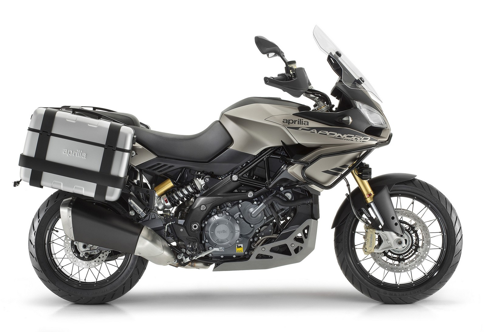 Aprilia Caponord Rally Grey Side