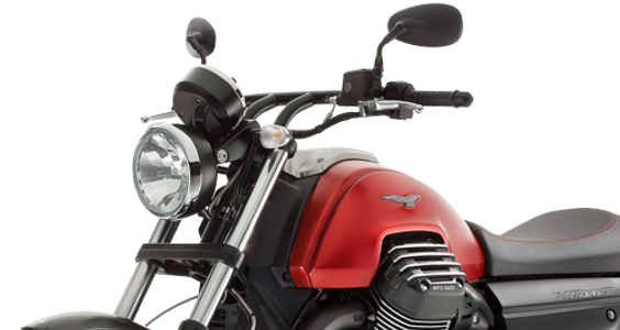 Moto guzzi Audace Red 2016 front