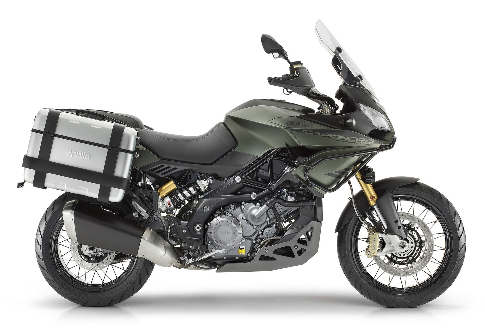 Aprilia Caponord Rally green side