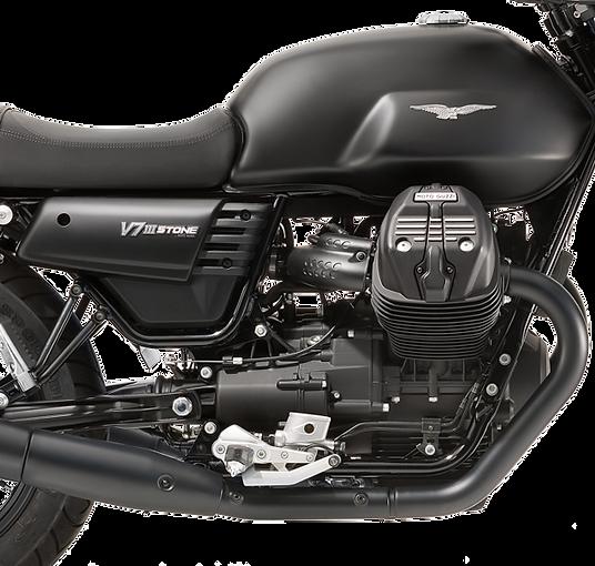 Moto Guzzi V7 III stone black chassis