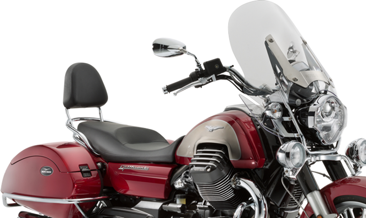 Moto Guzzi California Tourer 2017 red