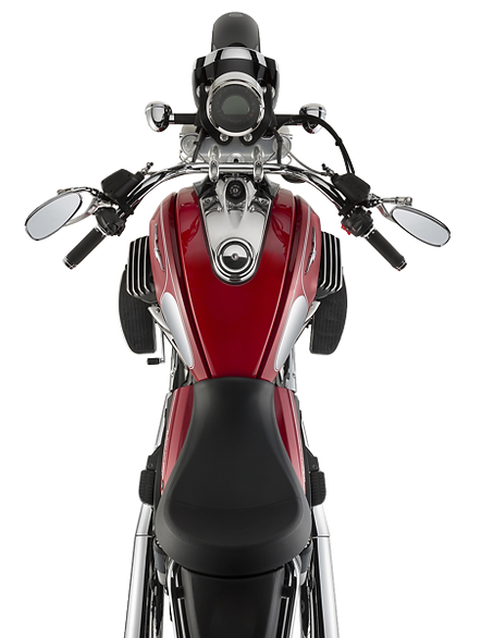 Moto Guzzi Eldorado red 2017 top