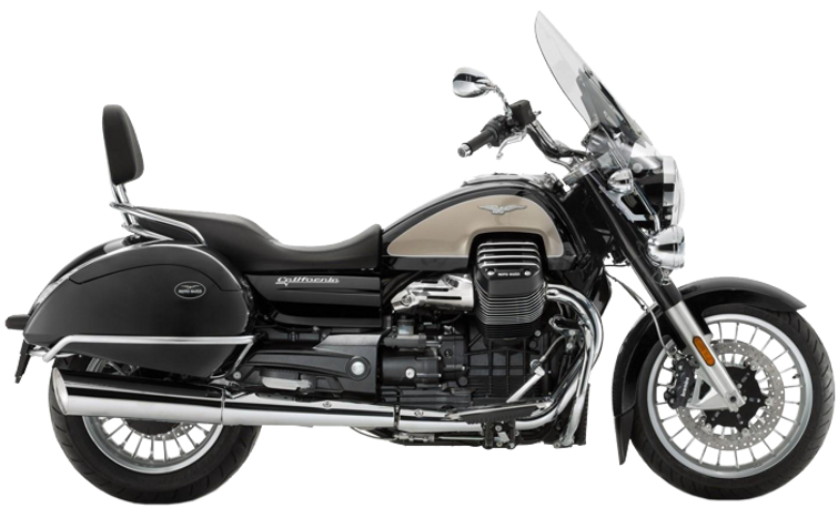 Moto Guzzi California Tourer black 2017 side