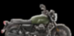 Moto Guzzi V7 III stone green side