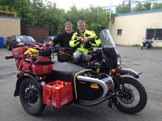 De Toronto à St-John Terre-Neuve en Ural