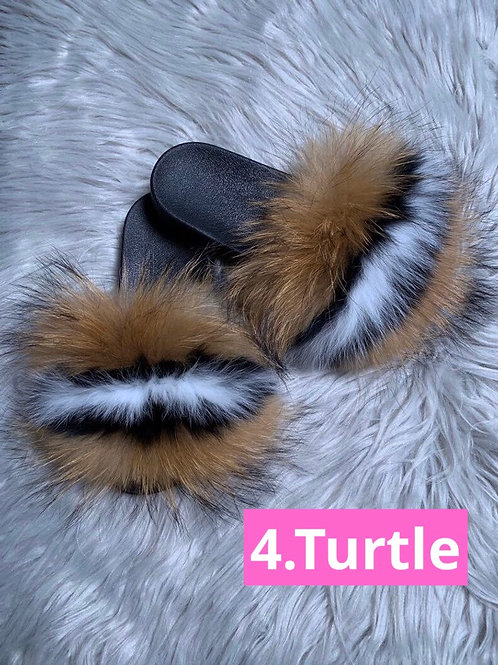 Turtle Fox Slippers