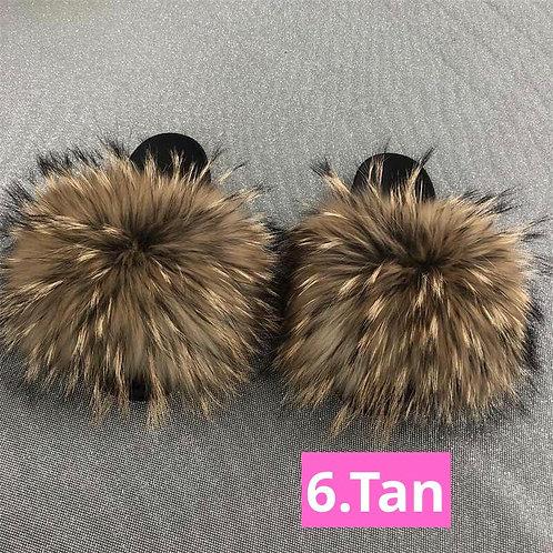 Natural Raccoon Fur