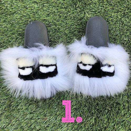 Monster Fur Slippers