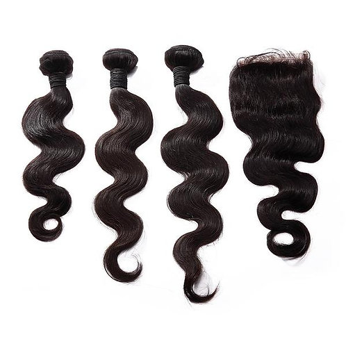 Princess Wave Closure with Bundles