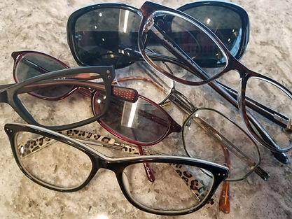 Donated Glasses