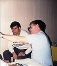 Dr. Tom Garrity performs retinoscopy