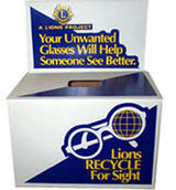 Lions Club Donation Boxes