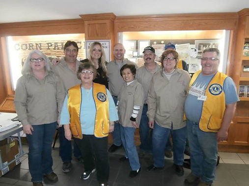 Palace City Lions Club of Mitchell, SD group photo