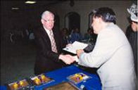 Dr. Phil Freitag receives another certificate