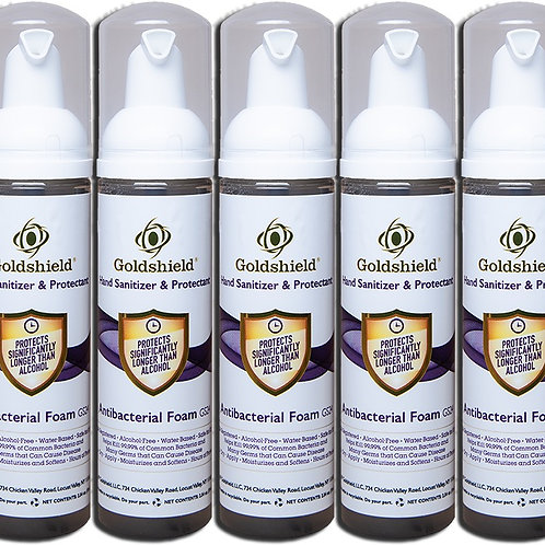 Large Foaming Hand Sanitizer - (5) 2.58 oz Bottles