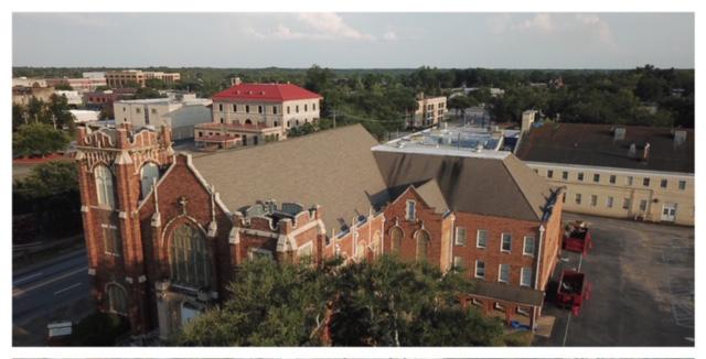Friendship Baptist Church Before
