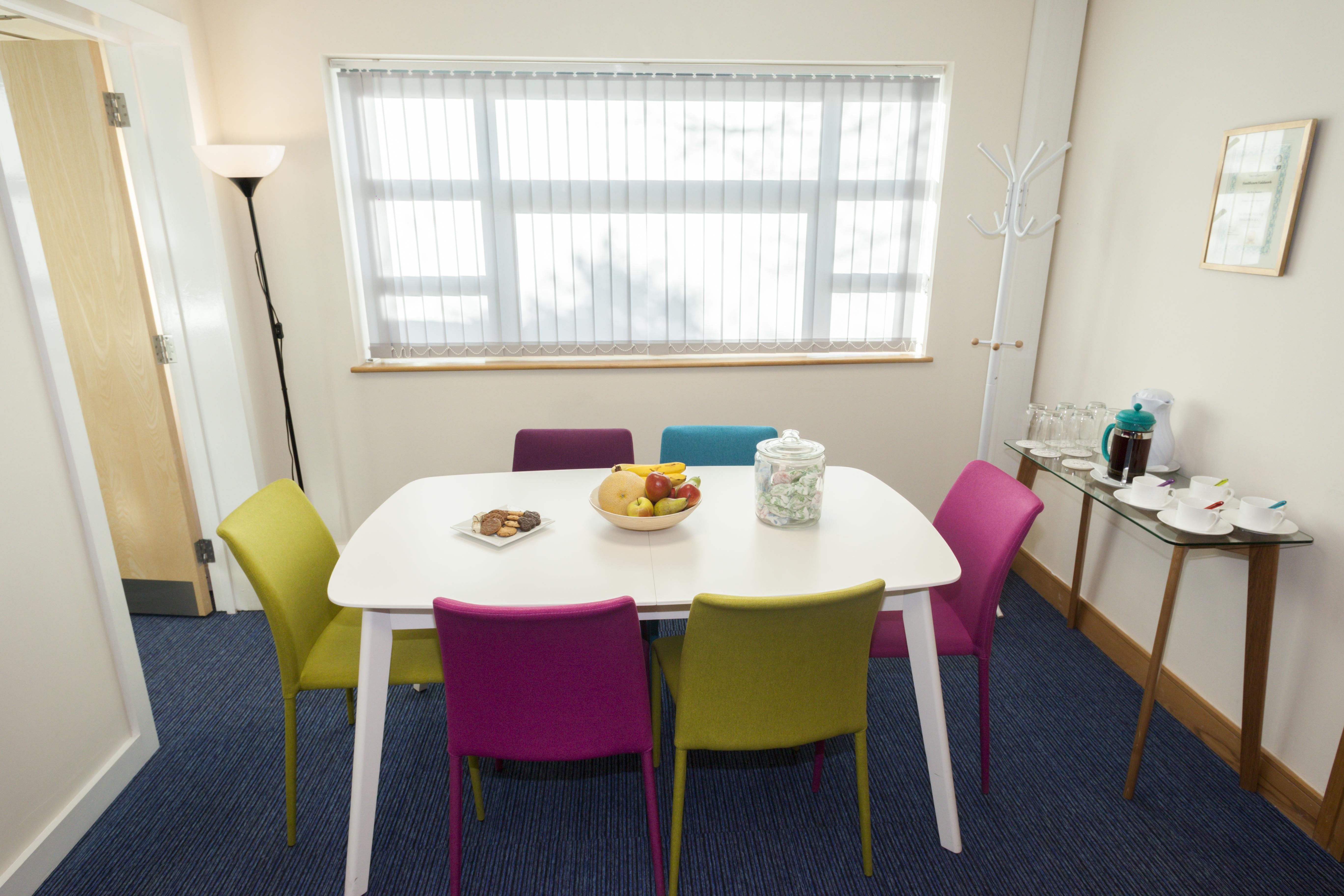 Client breakout room