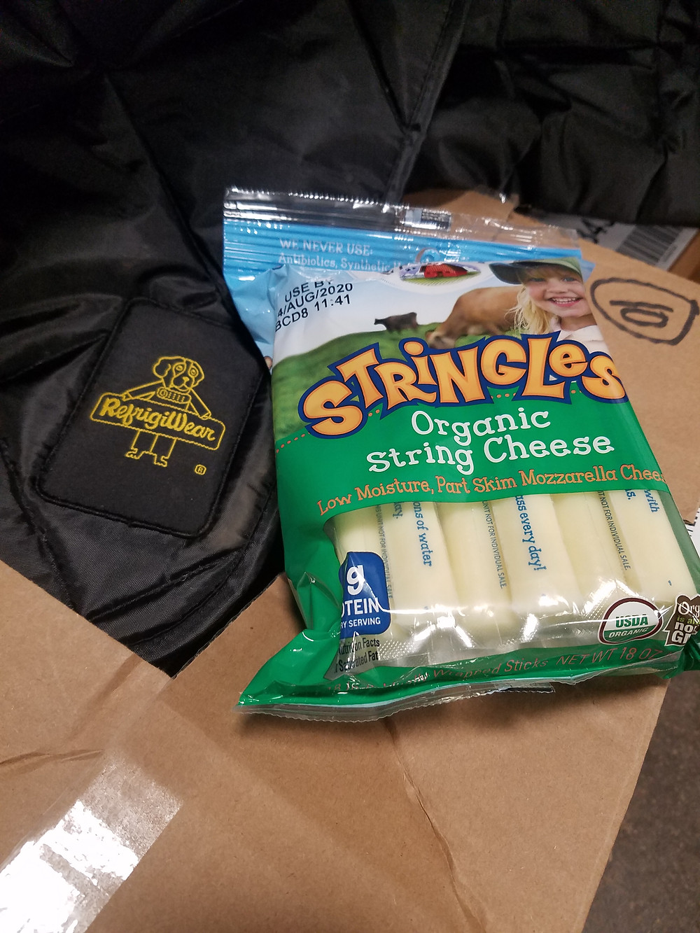 organic cheese, milk, and produce for Readstown food pantry