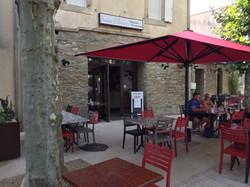 The village bar. Chez Bouca.