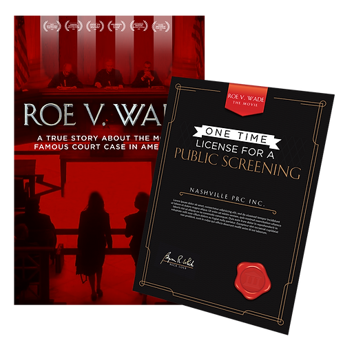Theaterical Public Showing License