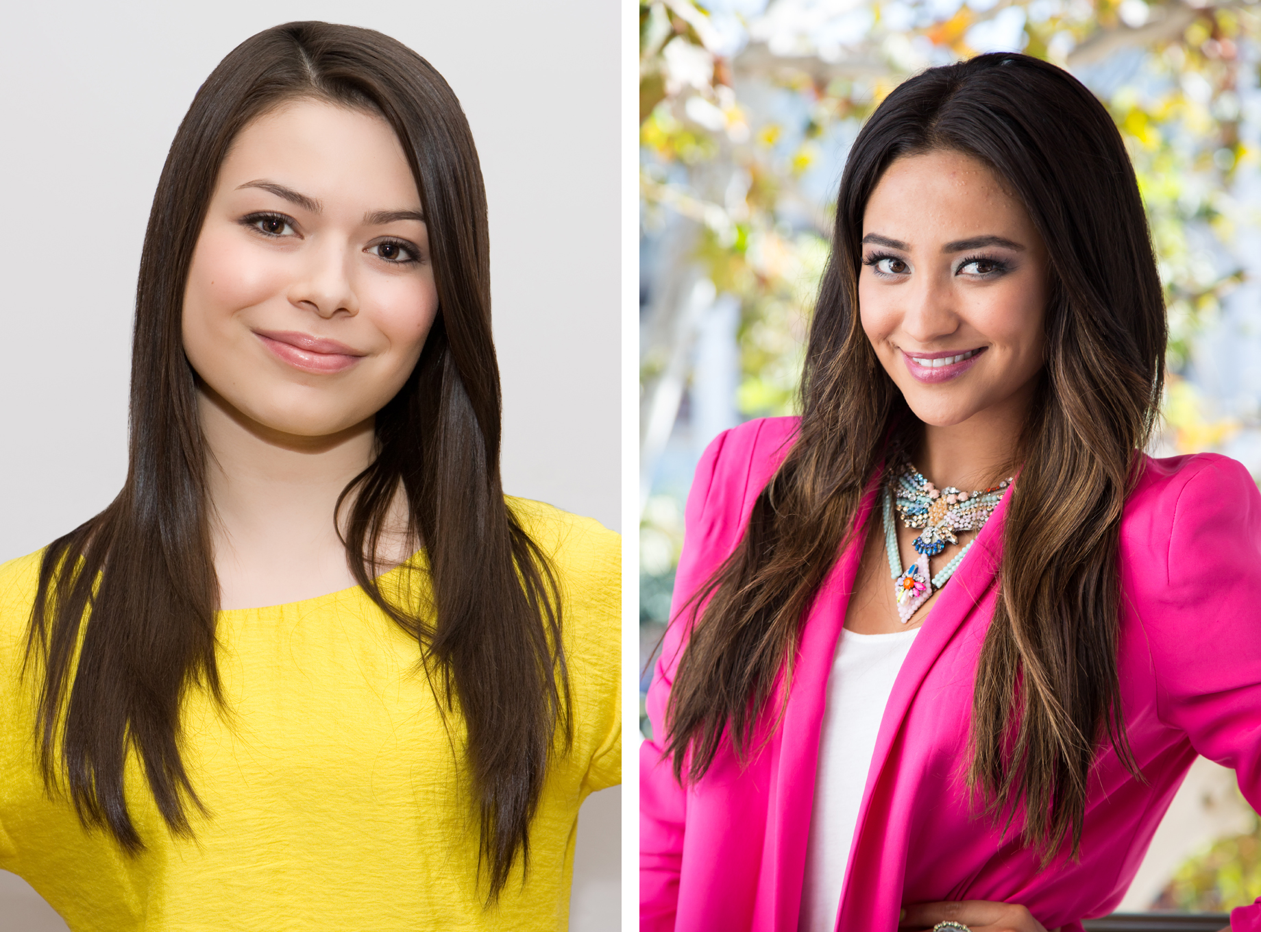 Miranda Cosgrove and Shay Mitchell