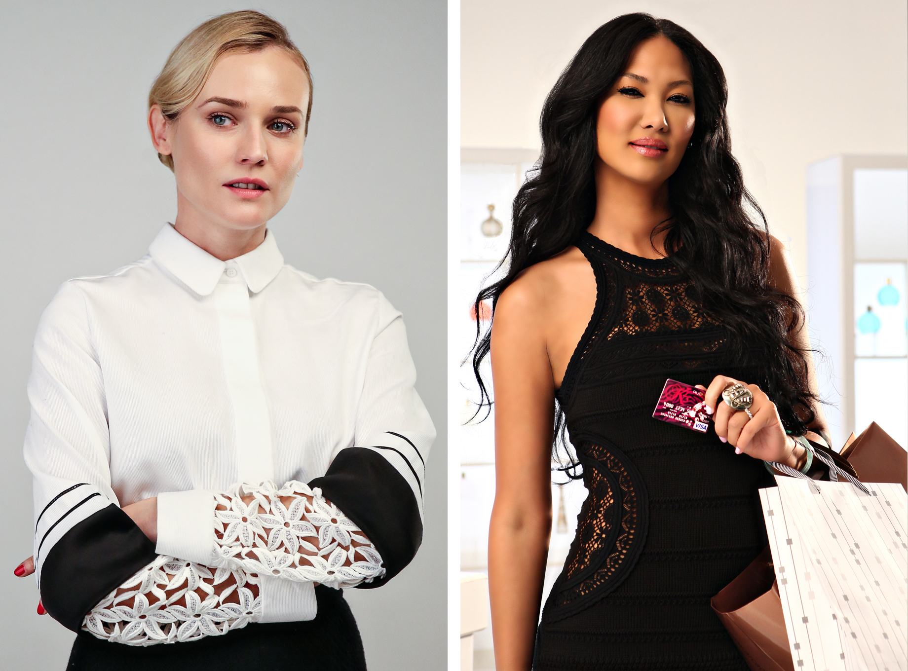 Diane Kruger and Kimora Lee Simmons