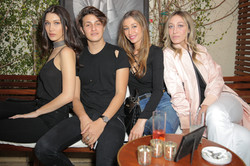 Bella Hadid, Anwar Hadid, Marielle Hadid, Alana Hadid