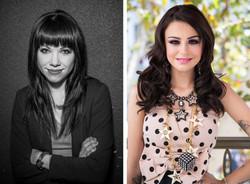 Carly Rae Jepsen and Cher Lloyd