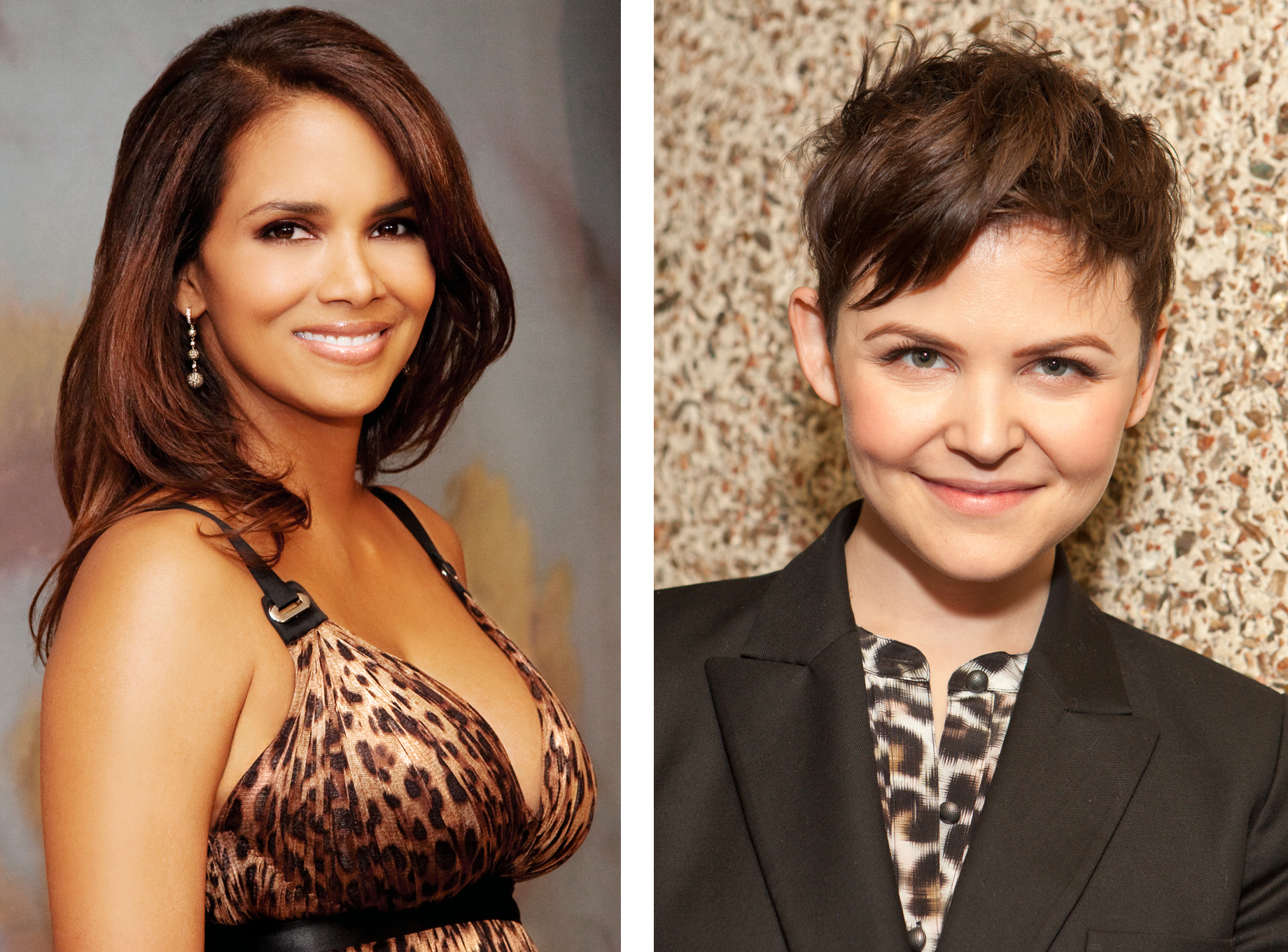 Halle Berry and Ginnifer Goodwin