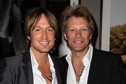 Keith Urban and Bon Jovi