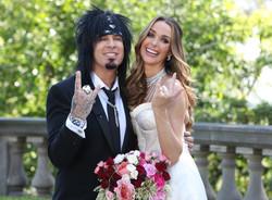 Nikki Sixx and Courtney Bingham Wedding