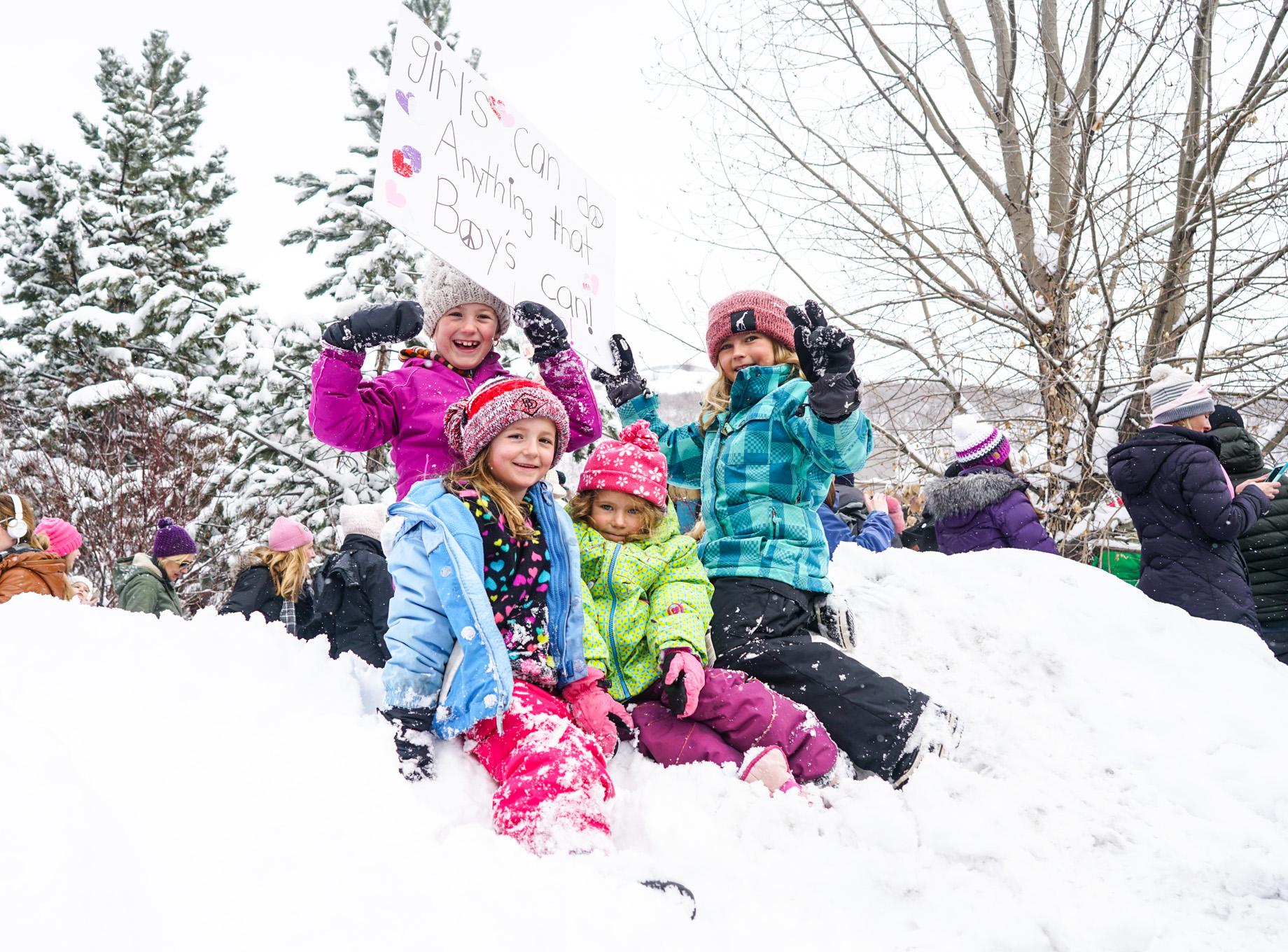 Women's March - January 21, 2017 - Park City, Utah
