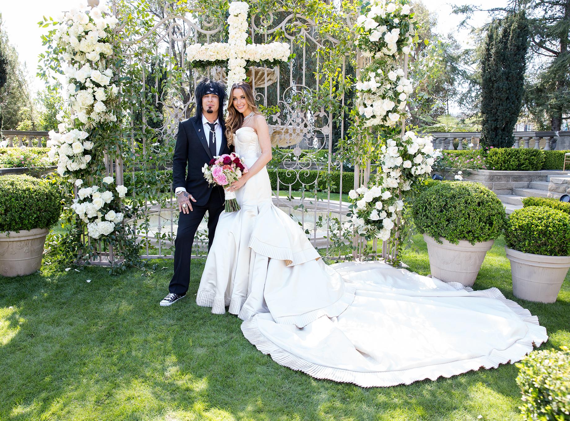 Nikki Sixx and Courtney Bingham Wedding 2