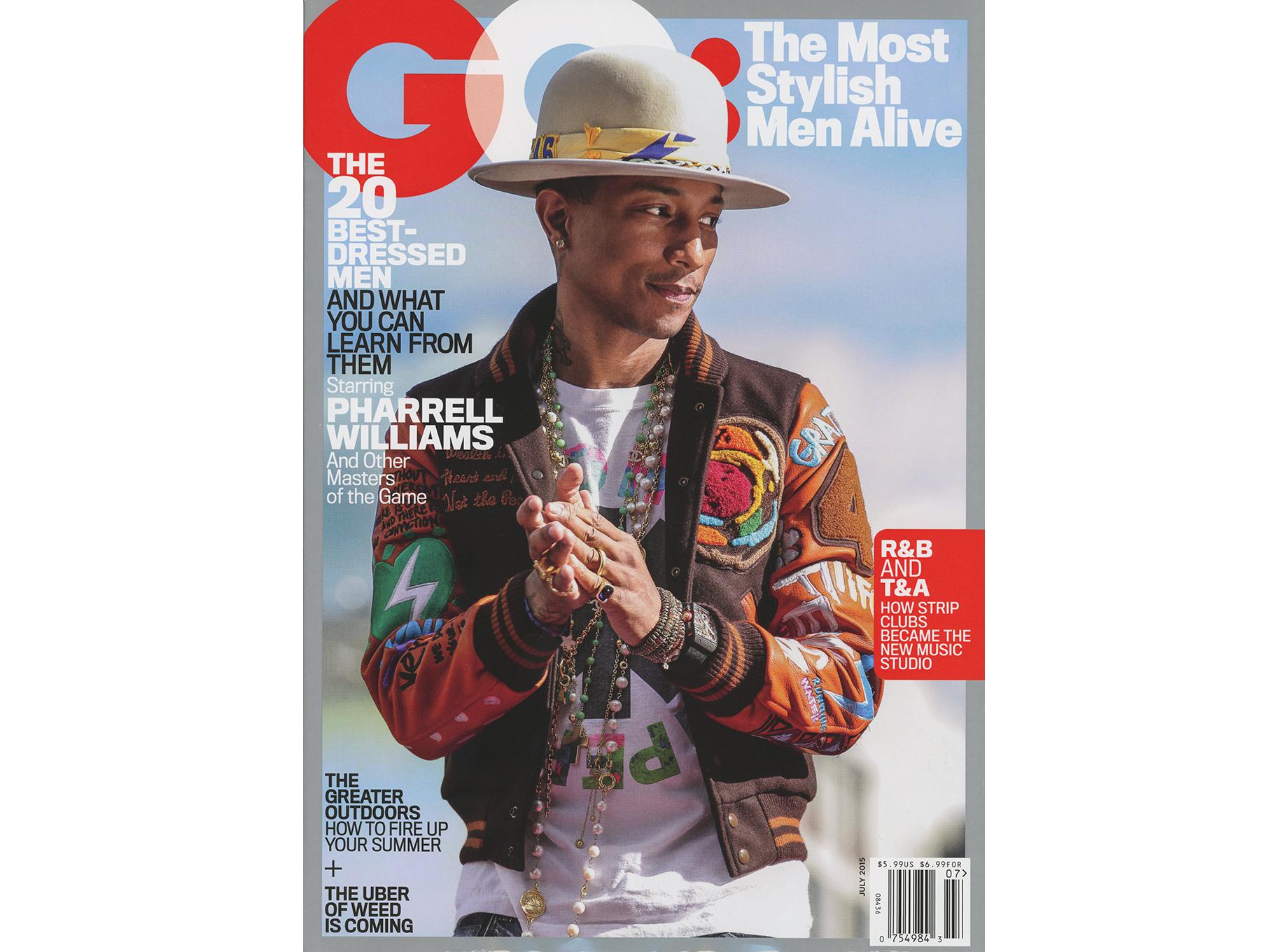 GQ Magazine July 2015