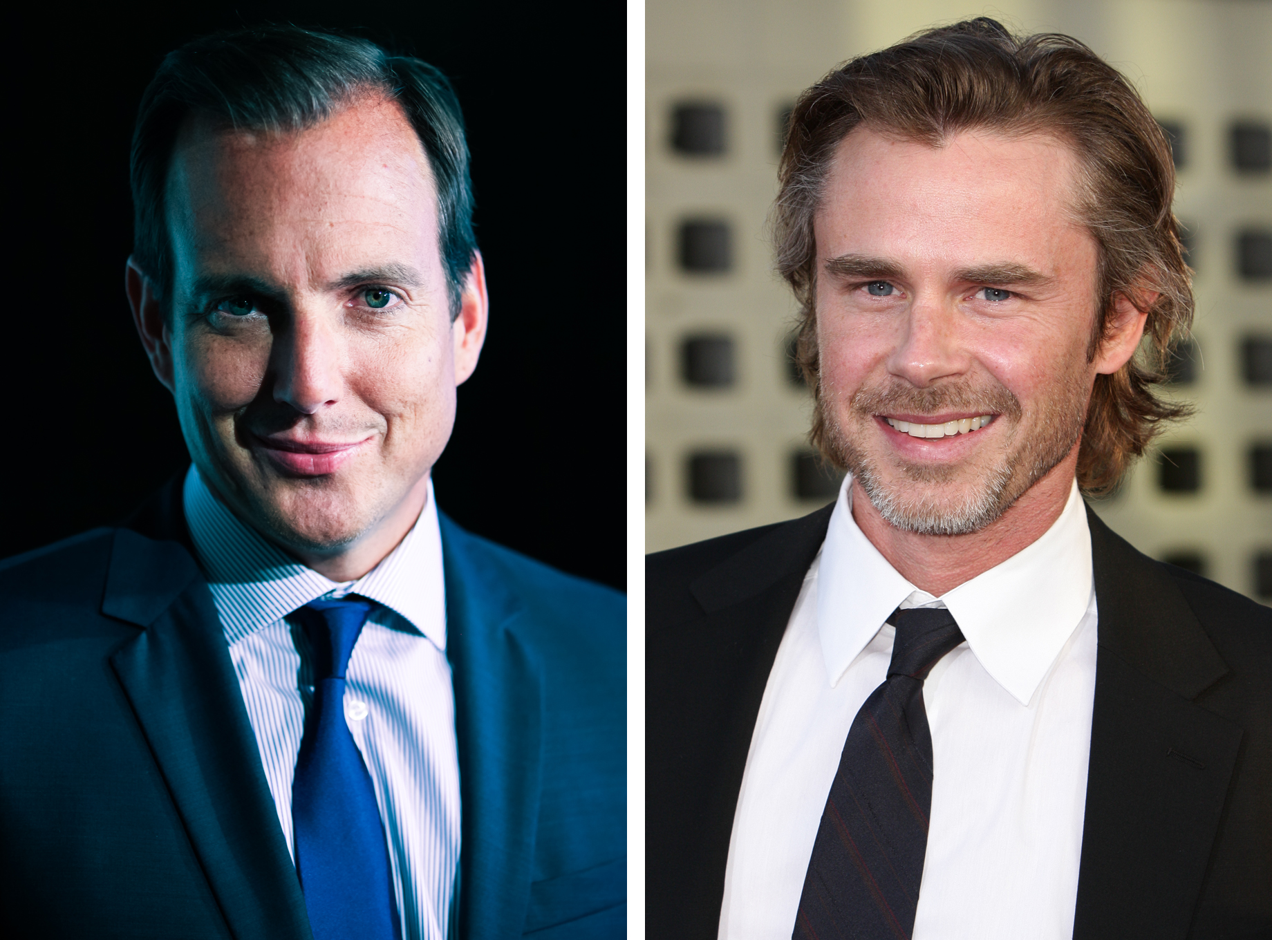 Will Arnett and Sam Trammell