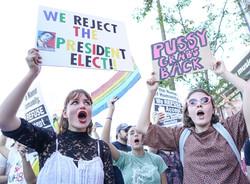 Post Election Protests, November 13, 2016 - Hollywood, California