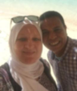 Abdel Wahab Ahmed und Tanja Sayed