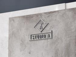 Logotipo Studio A
