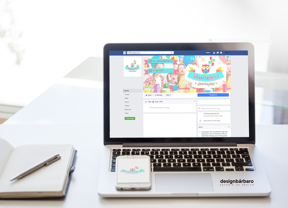 Personalização de Facebook