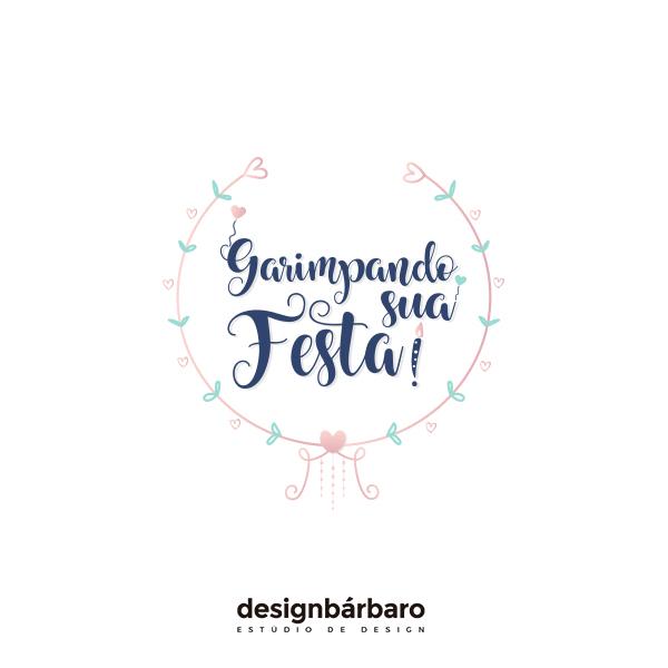 Logotipo Garimpando sua Festa