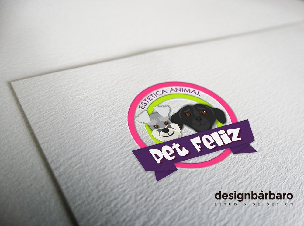 Logotipo Pet Feliz