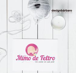 Logotipo Mimo de Feltro