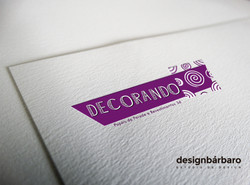 Logotipo Decorando